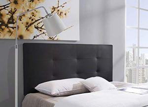 Marckonfort Tête de lit tapissée Carla 150x 60cm Noir
