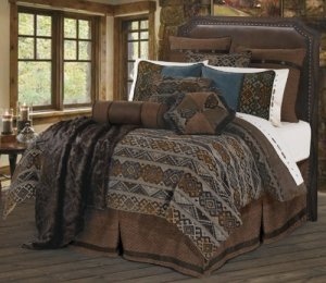 HiEnd Accents Rio Grande Duvet Cover Set, Full by HomeMax Imports
