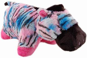 Pillow Pets Pillow, Zebra Glow Pet, 17-Inch by Pillow Pets