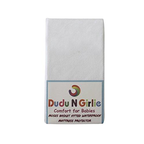 Dudu N Girlie Protège-Matelas en Tissu éponge 100 % Coton 36 x 76 cm