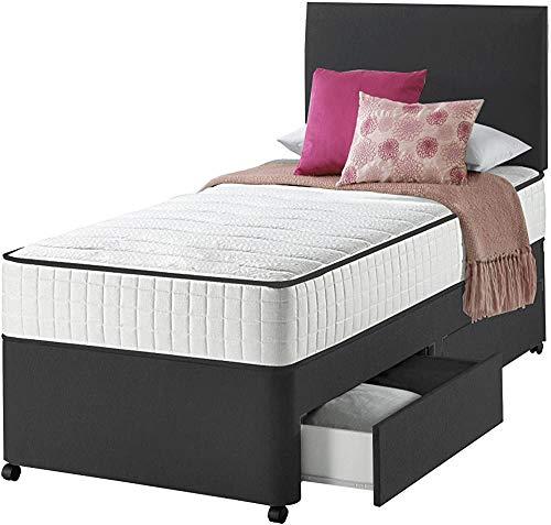 Tête de lit avec les adultes et les enfants avec un canapé-lit matelas,Black