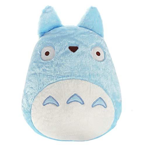 CoolChange Coussin Chuu de Totoro | Coussin Bleu pour canape | 27x40cm