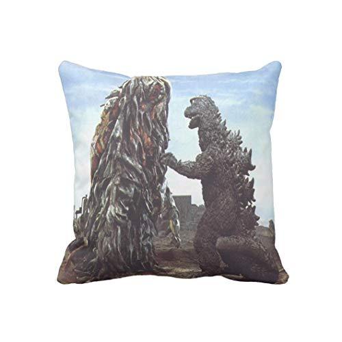 Godzilla Vs Smog Taie d'oreiller 45 x 46 cm