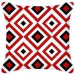 GYMS Ensemble De 4 Housses De Coussin Décoratives 18 X 18 Pouces, Housses De Coussin Abstraites Géométriques Rouges Modernes, sans Inserts, pour Canapé-Lit Maison Voiture Extérieure,D