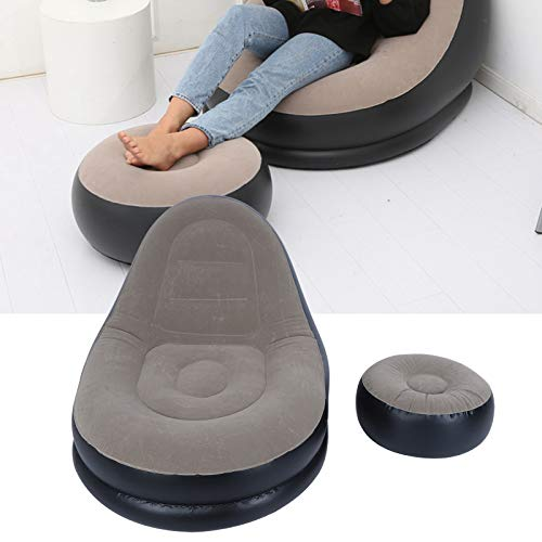 Hatirea Chaise de canapé, canapé Gonflable Meubles gonflables Confortables Chaise Gonflable Portable canapé de Loisirs pour Salon Balcon Jardin pour Adultes