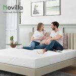Novilla Matelas, Mousse, Blanc, 100 x 200 cm