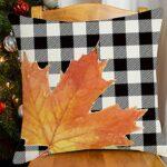 SoeHong Housse de coussin en forme de citrouille d'automne – Housse de coussin pour la maison, le canapé, la ferme