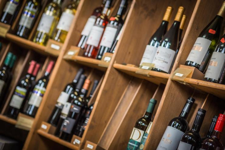 Hier kommen Weinkenner auf Ihre Kosten.