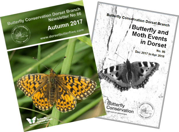 Covers of forthcoming newsletter and events list