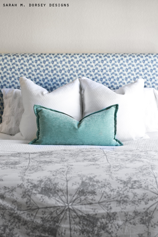 Super Simple Upholstered Headboard   Tutorial   Dorsey Designs diy square upholstered headboard 14 jpg
