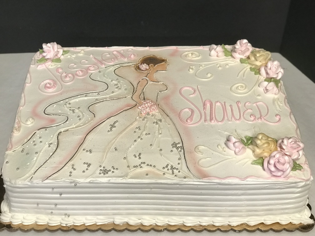 Tag bridal shower cake   D Orsi s Bakery Cake Gallery