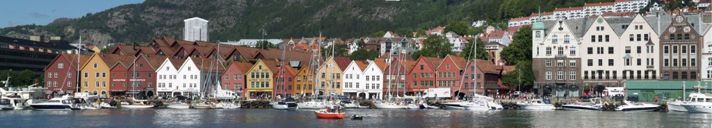 The harbour of Bergen