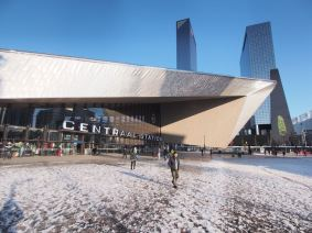 Central Station in Rotterdam