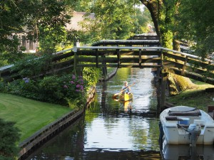 Canal at Giethoorn