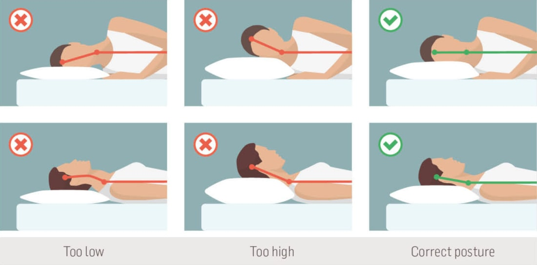 neck pain after sleeping causes tips