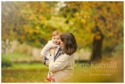 Autumn baby photographer