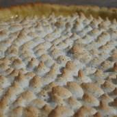 Maregnstoppe på Fransk citrontærte.