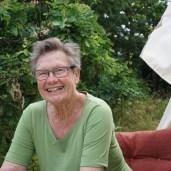 Min mor - Else på 84 år - var også på besøg.