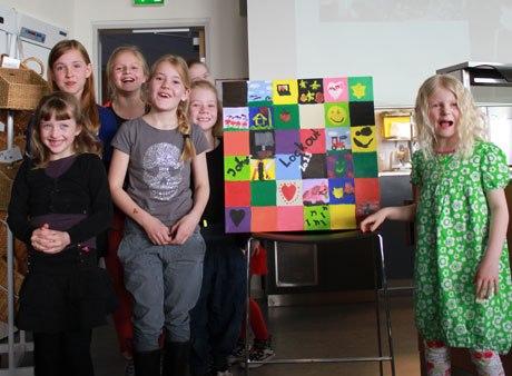 SLF Børn med feltbillede