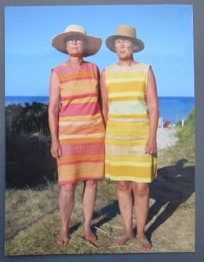 Lene og Dorte 2013. 59 og 58 år