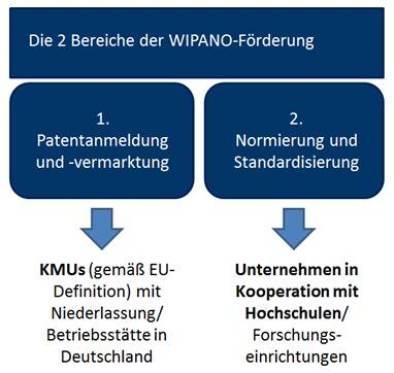 WIPANO-Patentfoerderung und Normierung, Standardisierung