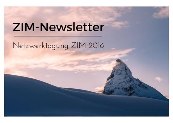 ZIM-Newsletter, Bloggrafik