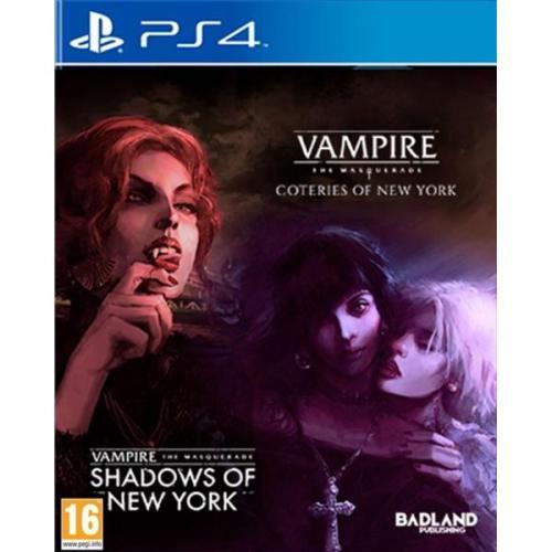Vampire The Mascarade Coteries of New York + Shadows of New York PS4
