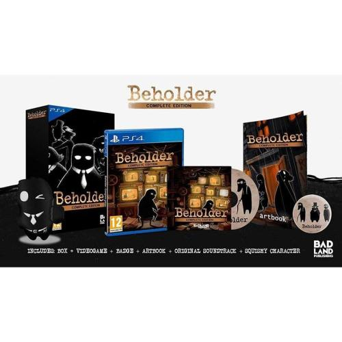 Beholder Complete Edition Collector's Edition PS4