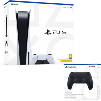 Playstation 5 Console Disk Editie + Extra PS5 Dualsense Controller Black