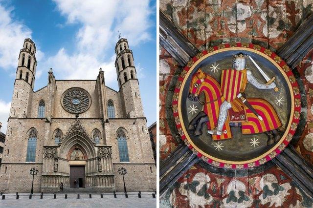 Basílica de Santa María del Mar, en Barcelona