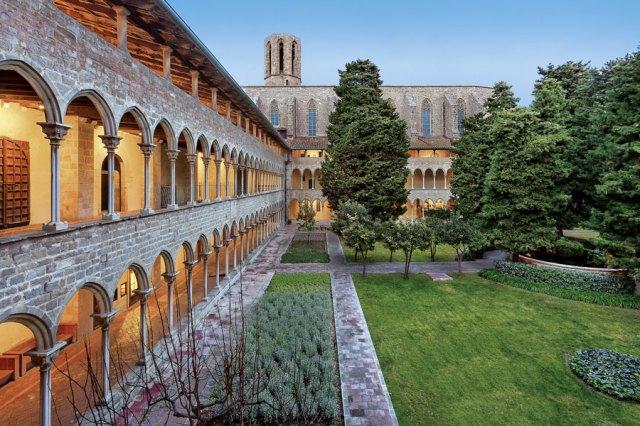 Claustro del Monasterio de Pedralbes de Barcelona