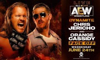 Chris Jericho y Orange Cassidy tendrán un careo este próximo miércoles en AEW Dynamite