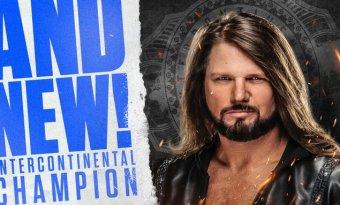 AJ Styles se convierte en el nuevo campeón Intercontinental