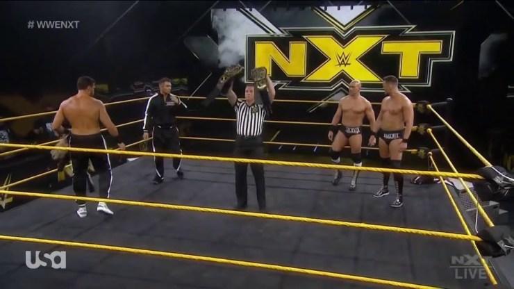 IMPERIUM vs Breezango en WWE NXT.
