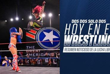 Hoy en el wrestling: AEW vs NXT marca el resumen noticioso en la lucha libre