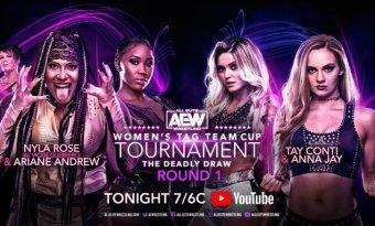 Este lunes comienza el torneo femenino en parejas de AEW