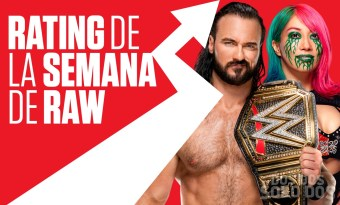 El rating de RAW sigue estancado