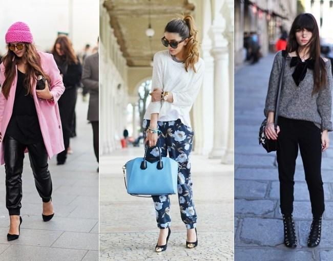 look-calça-jogging-elegante