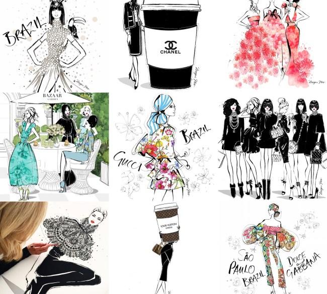 ilustração-moda-megan