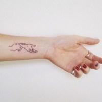 Inspiração: tatuagens de desenhos das mãos