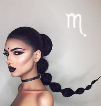 maquiagem-signo-escorpião