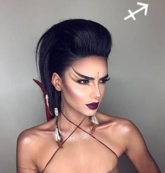 maquiagem-signo-sagitário