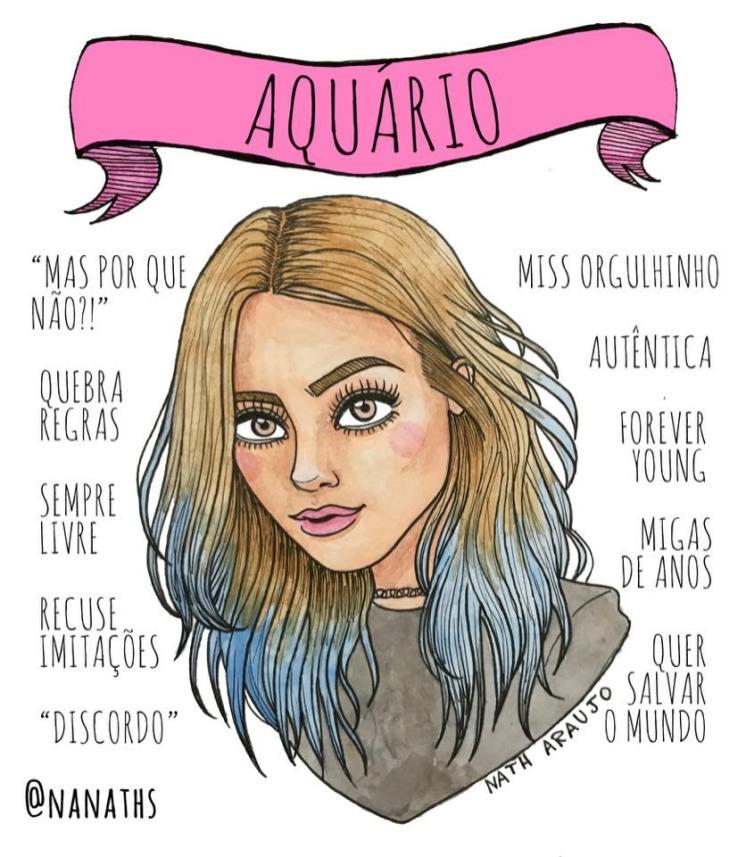 ilustração-signo-aquário