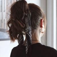 6 maneiras de usar lenço no cabelo