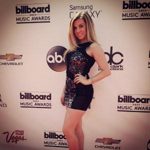 At the 2014 Billboard Awards red carpet