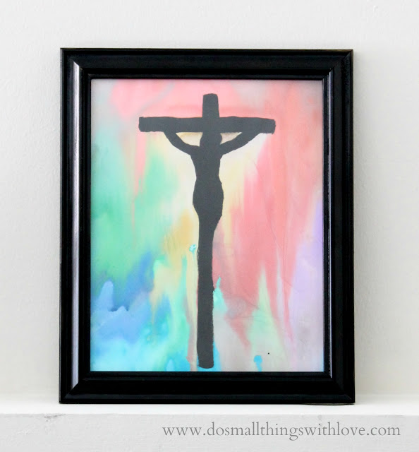 Crucifixion Watercolor Do Small Things With Great Love