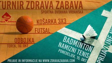 Photo of Turnir Zdrave zabave v košarki, odbojki in futsalu