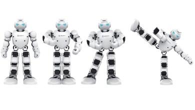 Photo of Humanoidni robot na Fakulteti za strojništvo.