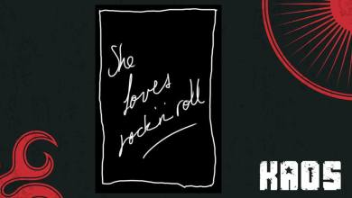 Photo of She loves rock 'n' roll