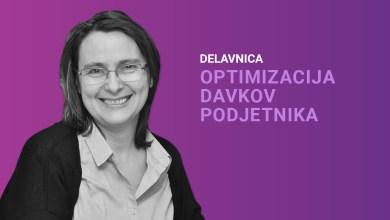 Photo of Delavnica: Optimizacija davkov podjetnika